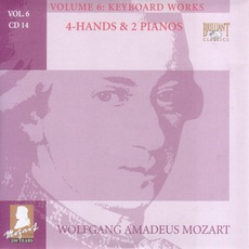 Complete Works, Volume 6: Keyboard Works - CD14 mp3 Artist Compilation by Wolfgang Amadeus Mozart