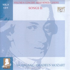 Complete Works, Volume 8: Concert Arias, Songs, Canons - CD9 mp3 Artist Compilation by Wolfgang Amadeus Mozart