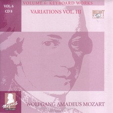 Complete Works, Volume 6: Keyboard Works - CD8 mp3 Artist Compilation by Wolfgang Amadeus Mozart