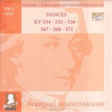 Complete Works, Volume 3: Serenades, Divertimenti, Dances - CD21 mp3 Artist Compilation by Wolfgang Amadeus Mozart