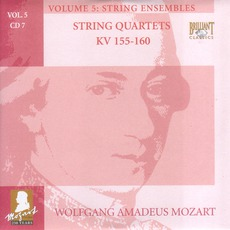 Complete Works, Volume 5: String Ensembles - CD7 mp3 Artist Compilation by Wolfgang Amadeus Mozart