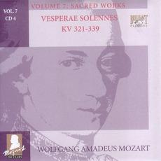 Complete Works, Volume 7: Sacred Works - CD4 mp3 Artist Compilation by Wolfgang Amadeus Mozart