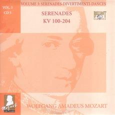Complete Works, Volume 3: Serenades, Divertimenti, Dances - CD5 mp3 Artist Compilation by Wolfgang Amadeus Mozart