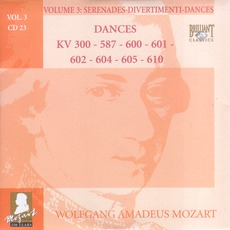 Complete Works, Volume 3: Serenades, Divertimenti, Dances - CD23 mp3 Artist Compilation by Wolfgang Amadeus Mozart