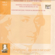 Complete Works, Volume 2: Concertos - CD18 mp3 Artist Compilation by Wolfgang Amadeus Mozart