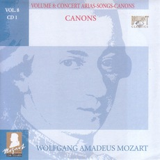 Complete Works, Volume 8: Concert Arias, Songs, Canons - CD1 mp3 Artist Compilation by Wolfgang Amadeus Mozart
