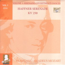 Complete Works, Volume 3: Serenades, Divertimenti, Dances - CD8 mp3 Artist Compilation by Wolfgang Amadeus Mozart