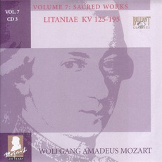 Complete Works, Volume 7: Sacred Works - CD3 mp3 Artist Compilation by Wolfgang Amadeus Mozart