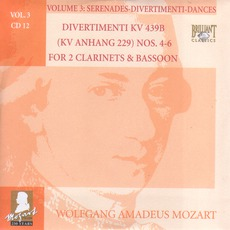 Complete Works, Volume 3: Serenades, Divertimenti, Dances - CD12 mp3 Artist Compilation by Wolfgang Amadeus Mozart