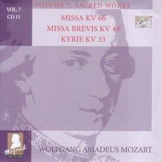 Complete Works, Volume 7: Sacred Works - CD15 mp3 Artist Compilation by Wolfgang Amadeus Mozart