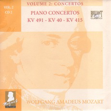 Complete Works, Volume 2: Concertos - CD2 mp3 Artist Compilation by Wolfgang Amadeus Mozart