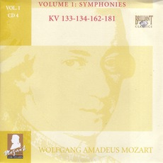 Complete Works, Volume 1: Symphonies - CD4 by Wolfgang Amadeus Mozart