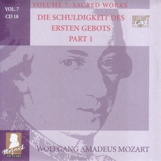 Complete Works, Volume 7: Sacred Works - CD18 by Wolfgang Amadeus Mozart