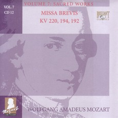 Complete Works, Volume 7: Sacred Works - CD12 by Wolfgang Amadeus Mozart