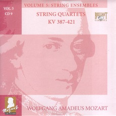 Complete Works, Volume 5: String Ensembles - CD9 by Wolfgang Amadeus Mozart