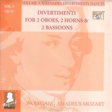 Complete Works, Volume 3: Serenades, Divertimenti, Dances - CD15 by Wolfgang Amadeus Mozart