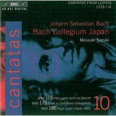 Cantatas, Volume 10 mp3 Artist Compilation by Johann Sebastian Bach