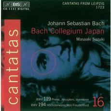 Cantatas, Volume 16 mp3 Artist Compilation by Johann Sebastian Bach
