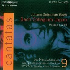 Cantatas, Volume 9 mp3 Artist Compilation by Johann Sebastian Bach