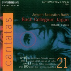 Cantatas, Volume 21 mp3 Artist Compilation by Johann Sebastian Bach
