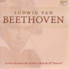 Complete Works: String Quartets Op.18 Nos.5&6; Op.95 - CD37 mp3 Artist Compilation by Ludwig Van Beethoven