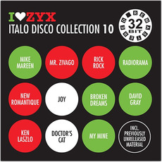 I Love ZYX Italo Disco Collection 10 mp3 Compilation by Various Artists