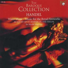 Handel: Water Music - Music for the Royal Fireworks, CD16 by George Frideric Handel