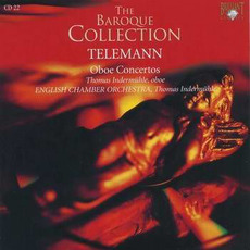 Telemann: Oboe Concertos, CD22 by Georg Philipp Telemann