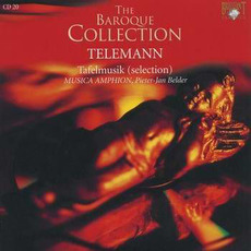 Telemann: Tafelmusik, CD20 by Georg Philipp Telemann