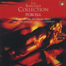 Purcell: Funeral Odes for Queen Mary, CD23 by Henry Purcell