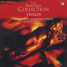 Vivaldi: Concertos, CD5 by Antonio Vivaldi