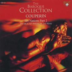 Couperin: Les Nations II, CD13 by François Couperin