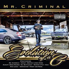 Evolution of a G mp3 Album by Mr. Criminal
