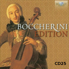 Boccherini Edition, CD25 mp3 Artist Compilation by Luigi Boccherini