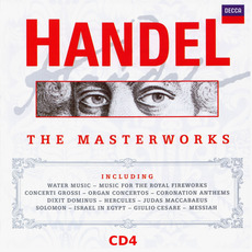 The Masterworks, CD4 mp3 Artist Compilation by George Frideric Handel