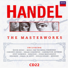The Masterworks, CD22 mp3 Artist Compilation by George Frideric Handel