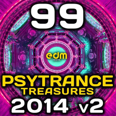 Psy Trance Treasures 2014, Vol. 2: 99 Best of Fullon Progressive & Goa Hits by Various Artists
