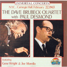 Immortal Concerts: N.Y.C., Carnegie Hall, February 22, 1963 (Re-Issue) by The Dave Brubeck Quartet with Paul Desmond