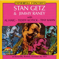 Immortal Concerts: Live at Storyville, Boston 28 October 1951 (Re-Issue) mp3 Live by Stan Getz