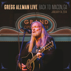 Gregg Allman Live: Back To Macon, GA mp3 Live by Gregg Allman