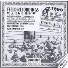 Field Recordings, Volumes 10 & 11: 1933-1941 by Various Artists