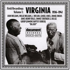 Field Recordings, Volume 1: Virginia 1936-1941 mp3 Compilation by Various Artists