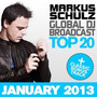 Global DJ Broadcast: Top 20 - January 2013