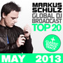 Global DJ Broadcast: Top 20 - May 2013