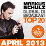 Global DJ Broadcast: Top 20 - April 2013