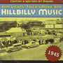 Dim Lights, Thick Smoke and Hillbilly Music: Country & Western Hit Parade 1945