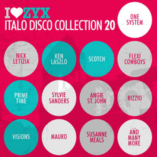 I Love ZYX Italo Disco Collection 20 by Various Artists