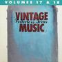 Vintage Music Collectors Series, Volume 17 & 18