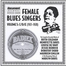 Female Blues Singers, Vol. 5: C-D-E (1921-1928) by Various Artists