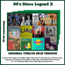 80's Disco Legend X mp3 Compilation by Various Artists